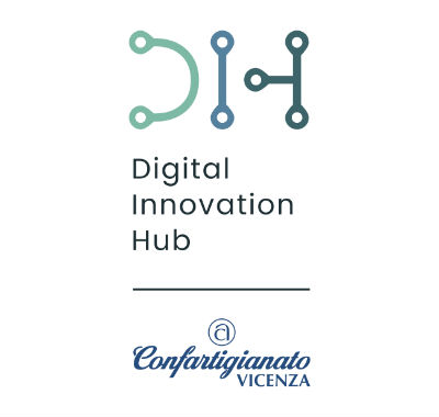 Logo Digital Innovation Hub Vicenza - Confartigianato Vicenza